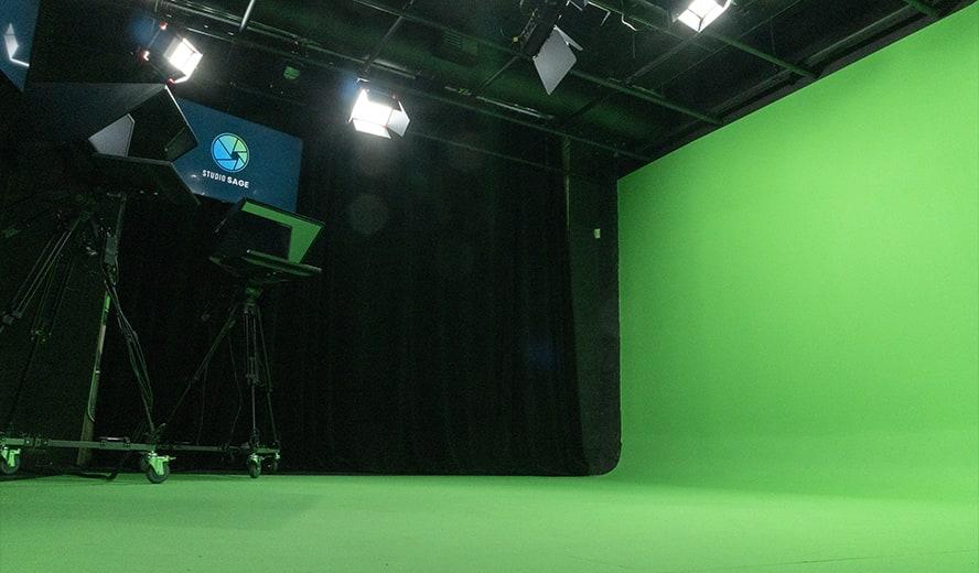 Studio Sage Green Studio